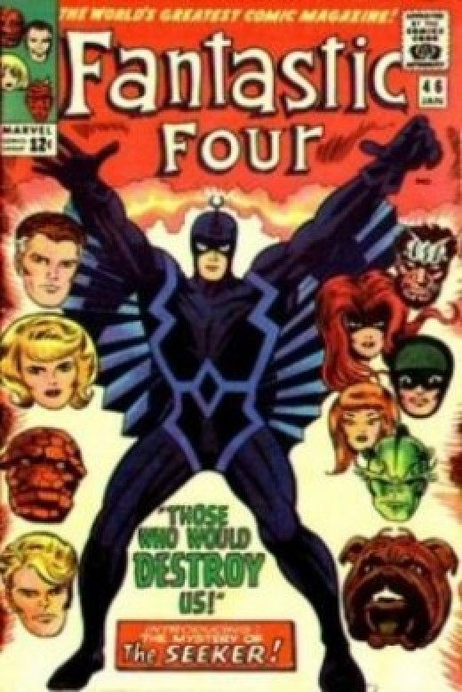 Fantastic Four 46 Inhumans Black Bolt