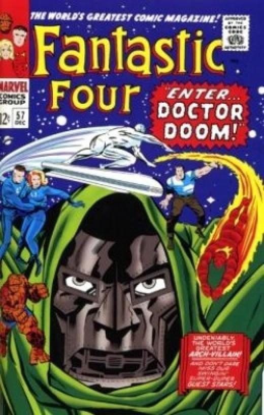 Fantastic Four 57 Silver Surfer Dr. Doom