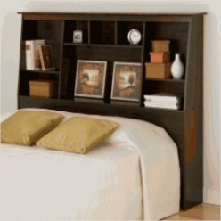 Bookcase Headboard: Full