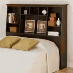 Bookcase Headboard: Full