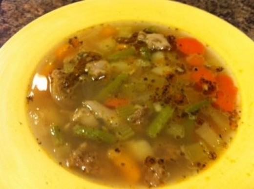 My Homemade Chicken Soup