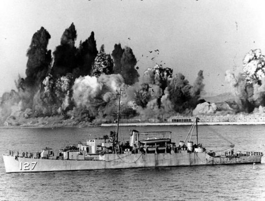 Evacuation of Hungnam, 24 December 1950, USS Begor