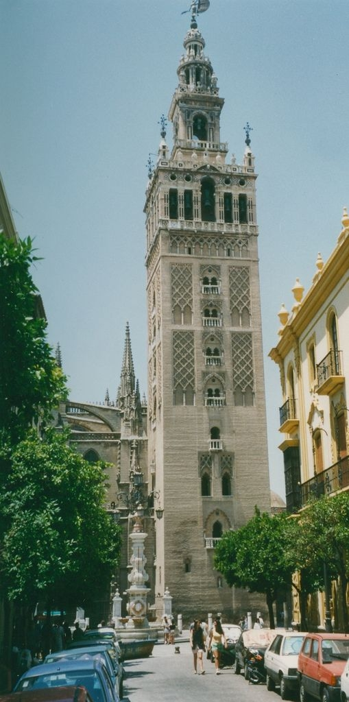 Seville, the Giralda (tower) of the Catedral de Santa Maria de la Sede