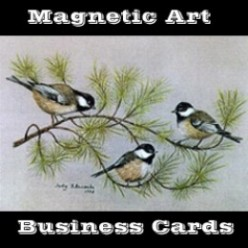 How To Make Art Magnetic Business Cards