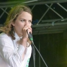 Coco Sumner on stage.
