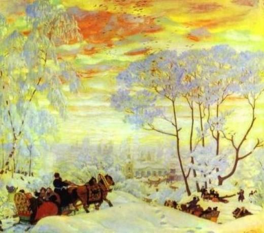 painting by Kustodiyev