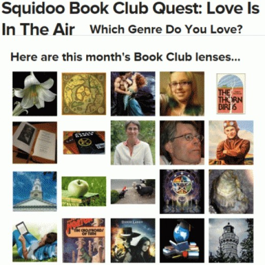 February (2013) book CLub Quest Nom