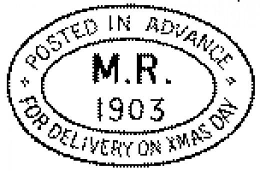 Special Christmas Postmark