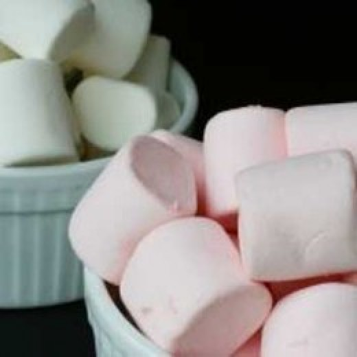 Photo of marshmallows generously shared by Kym McLeod on SXC at http://www.sxc.hu/photo/1093467