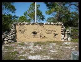 Entrance to Emerson Point Preserve in Palmetto 34211