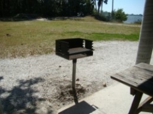 Charcoal Grill at Emerson Point Preserve