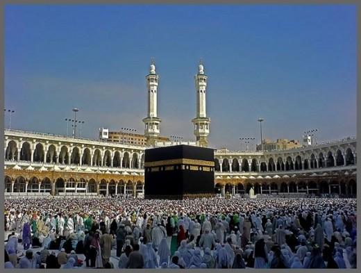 Kaaba at Masjid Al Haram
