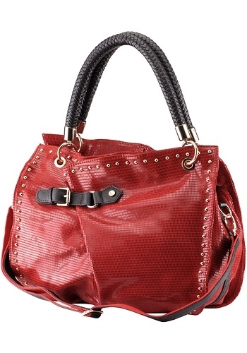 Desperate Housewives Snakeskin Tote (red)