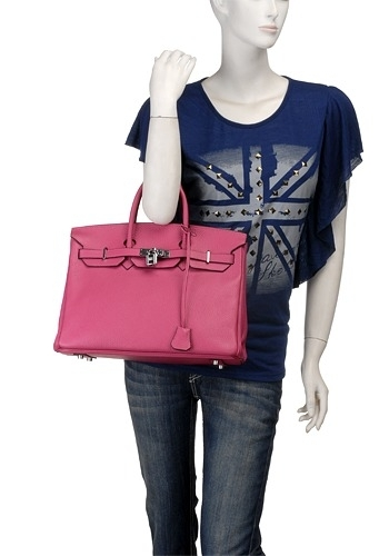 The Essential Jane Bag Leather Pink