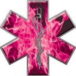 Star of Life in Pink.  Image from Google Images