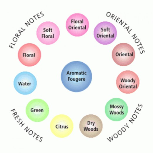 Fragrance Wheel
