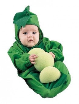 Baby Pea Pod Costume