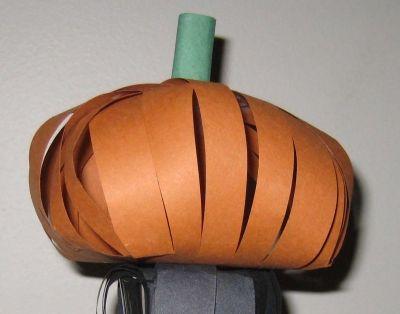The first 3D project: a pumpkin!