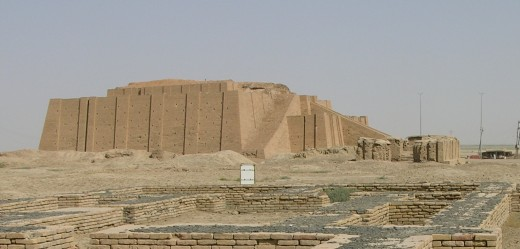 Sumerian Temple, Iraq