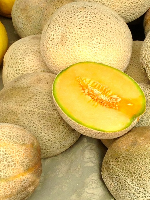 Mmm, those melons look so delicious!