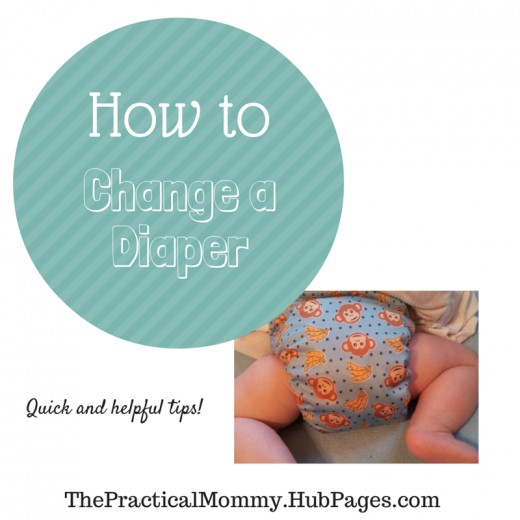 All you need to know about changing a baby's diaper, the different kinds of diapers, and much needed diaper supplies.