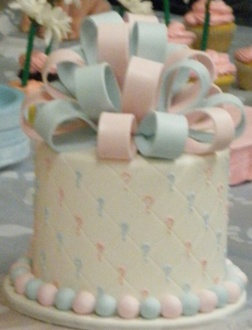 Gender Cake for Baby Shower