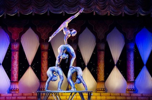 Planning and Experience: As children, we watched circus acrobats and wondered how they did those amazing tricks.