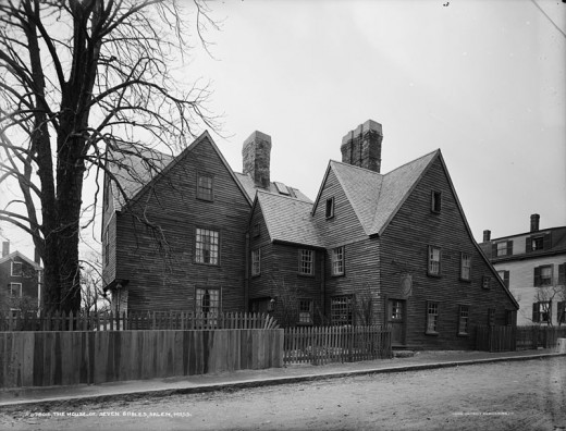 House of the Seven Gables 115 Derby Street in Salem, Massachusetts, 01970