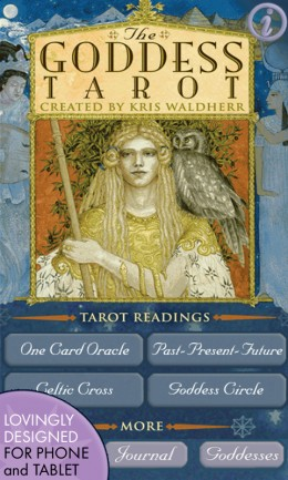 Goddess Tarot Cards Deck by Kris Waldherr