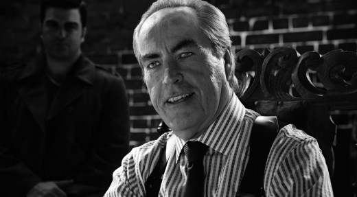 Powers Boothe reprises his role as the highly corrupt and sadistic Senator Roarke, who becomes the major antagonist and adversary in Johnny's and Nancy's stories.