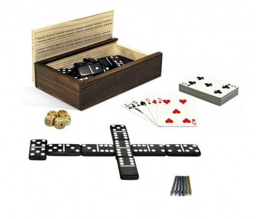 Play dominoes, cards and more