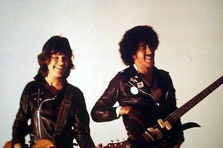 The bands front man Phil Lynott and Gary Moore were both credited for writing the song.