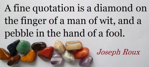 Quote by Joseph Roux, born 19 April 1834 died February 1905 was a famous author and poet