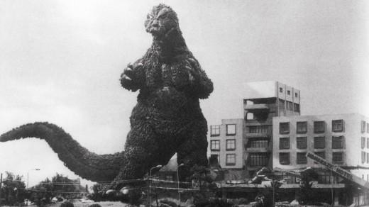 Godzilla takes out Tokyo