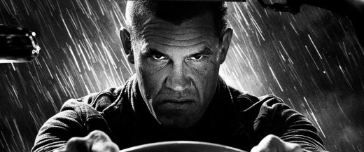 Josh Brolin plays Dwight McCarthy in Sin City 2, taking over from Clive Owen who played him in the original movie.