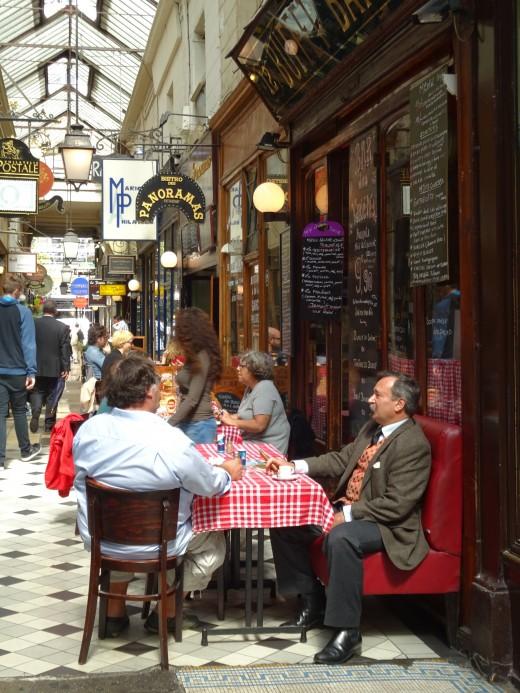 Arcade in the Saint Germain Quarter, Paris