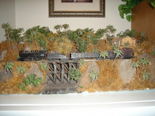 Hawaiian railroad scene by Bob W.