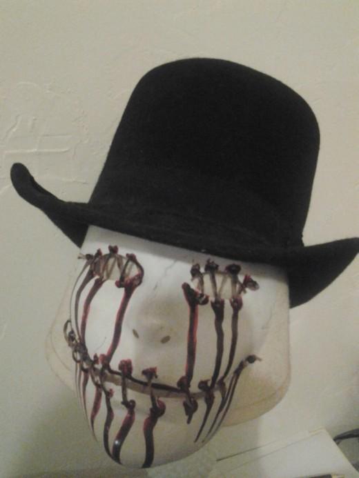 Homemade Halloween mask
