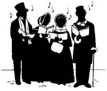 Just what are these Christmas Carolers singing about these days?