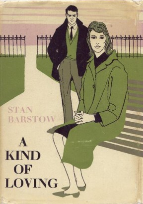 The cover of the first edition of 'A Kind of Loving'.