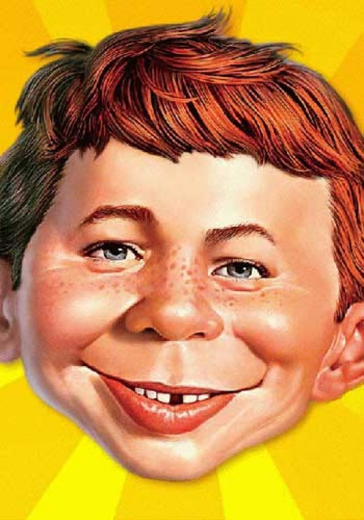 Alfred E. Neuman is the mad magazine guy