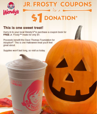 Wendy's Coupon Book