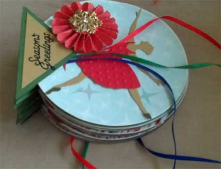 CD Mini Album with Christmas Theme