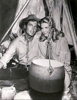 "Ty Hardin starred as ""Bronco,"" an early television cowboy"