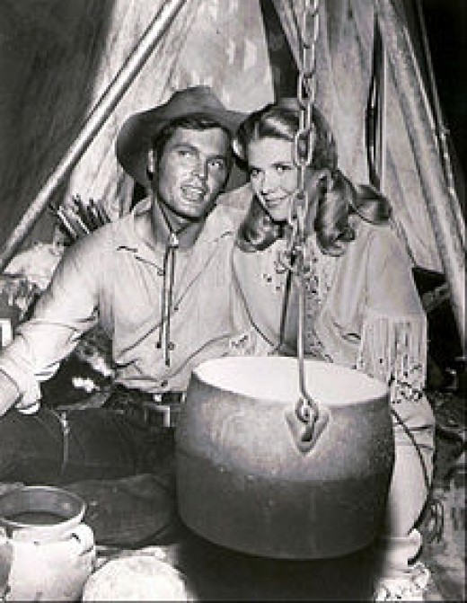 """Ty Hardin starred as """"Bronco,"""" an early television cowboy"""