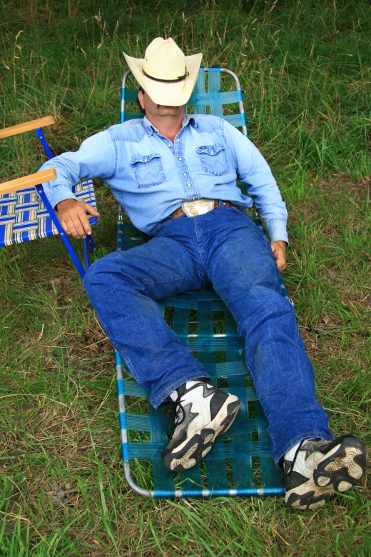 Wearing sneakers and napping: two reasons why I would not have been a good cowboy
