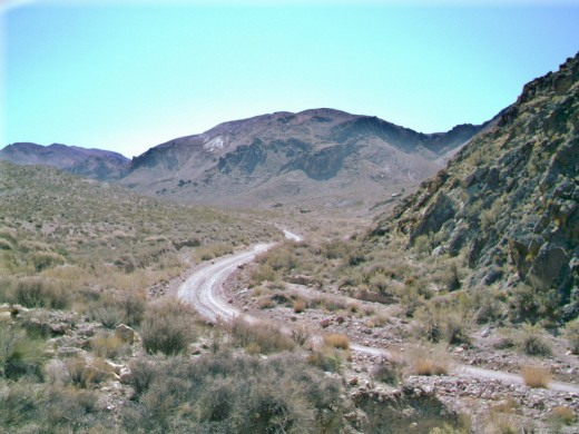 Titus Canyon Road