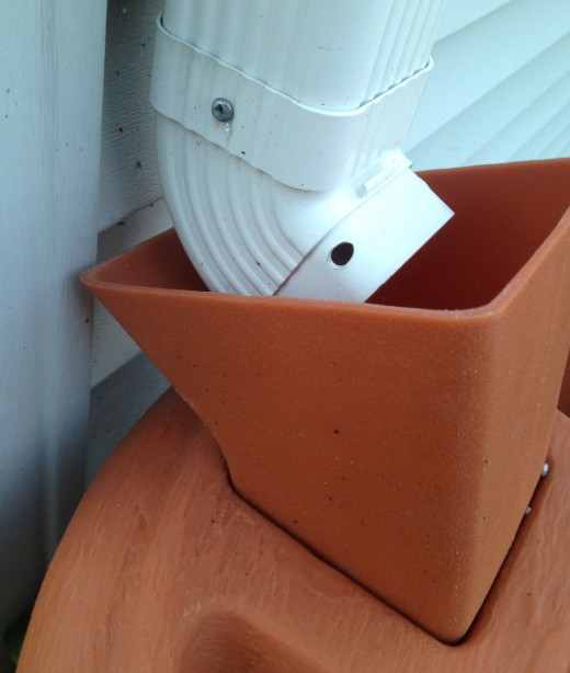 The barrel funnel makes it easy to set up your rain barrel - no extra supplies needed!