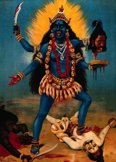 Image by Raja Ravi Varma [Public domain], via Wikimedia Commons