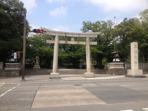 A torii entrance